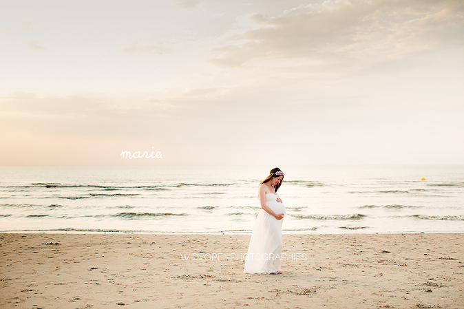 photographe grossesse Calais plage