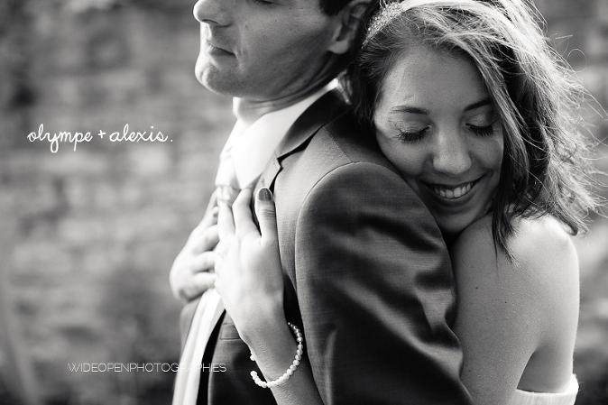 photographe couple mariage abbaye maubuisson