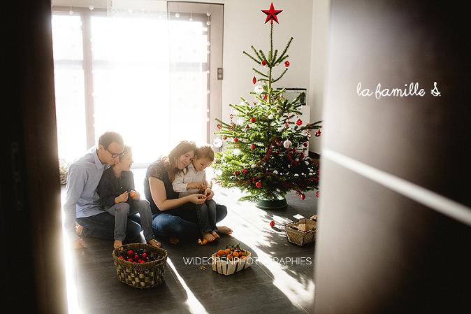 photographe famille Alsace préparer noel