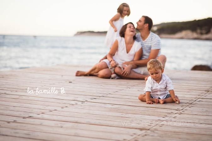la famille B photographe cassis 00