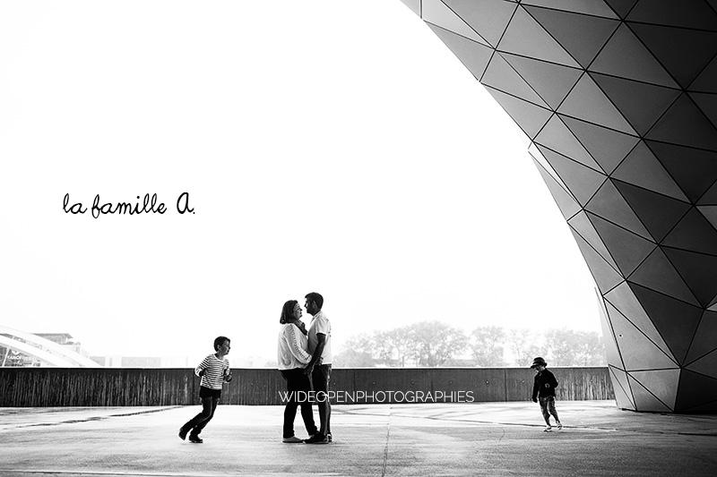 séance famille photographe musée des confluences lyon