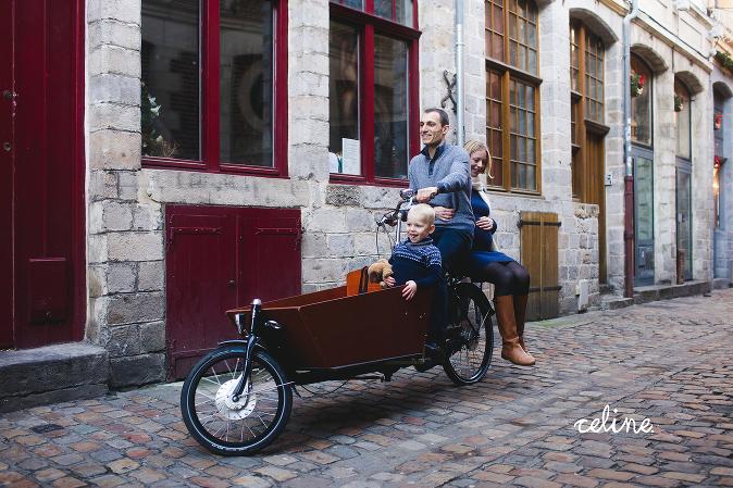 photographe grossesse Vieux Lille en hiver