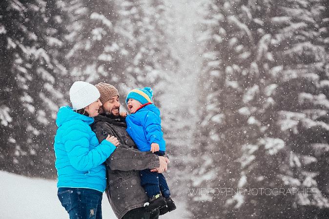 photographe famille morzine